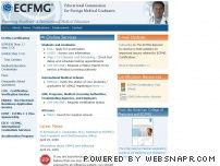 ecfmg.org - ECFMG® | Educational Commission for Foreign Medical Graduates
