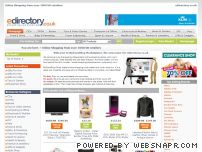 edirectory.co.uk - Online Shopping from over 1000 UK retailers - myfaveshopmarketplace.com secure online shop