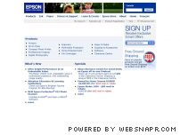epson.ca - Epson Canada Home Page - Epson Printers, Scanners, Projectors, Ink, Paper and More - Epson Canada, Ltd.