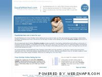 equallymatched.com - Christian Singles - Christian Singles Online Dating Service