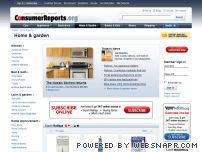 home.consumerreports.org - Find Home & Garden product and service information from Consumer Reports