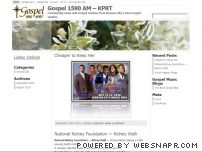 kprt.com - Gospel 1590 AM - KPRT | Community news and Gospel reviews from Kansas City's best Gospel station.