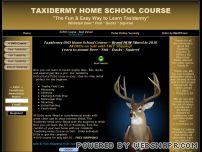 learn-taxidermy.com - Taxidermy DVDs, Schools and Supplies; Learn Deer, Fish, Duck, Squirrel Taxidermy from Home