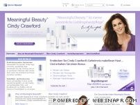 meaningfulbeauty.com - Meaningful Beauty® - Anti Aging Skin Care Products by Cindy Crawford