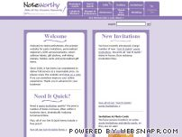 noteworthynotes.com - NoteworthyNotes: personalized stationery, party invitations and birth announcements