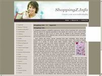 shoppingz.info - Shopping offers variety of products with unique collections of jewelery, clothes or any other commodity.
