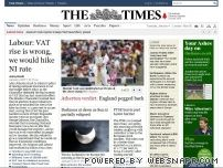 thetimes.co.uk - Times Online | News and Views from The Times and Sunday Times