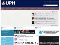 uph.edu - Universitas Pelita Harapan (UPH) - Global Perspective | Global Campus